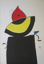 Joan MIRO - Print-Multiple - Quatre Colors
