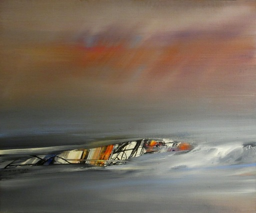 Julius BALTAZAR - Peinture - Sans titre