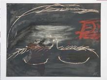 Antoni TAPIES - Estampe-Multiple - Hommage à Picasso