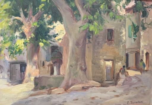 Edmond QUINTON - Peinture - Malocène et Vaison la Romaine