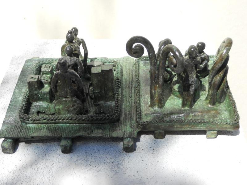 Michaël MAGNE - Sculpture-Volume - Les soins en moratoire pour antichambre