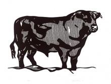 Roy LICHTENSTEIN - Estampe-Multiple - Bull