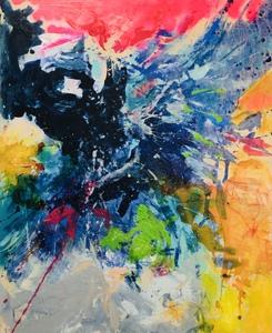 Nicole LEIDENFROST - Gemälde - Der Adler