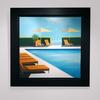 Daniel RAYNOTT - Painting - Pacific lights