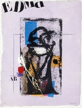 James COIGNARD - Print-Multiple - Une buveuse