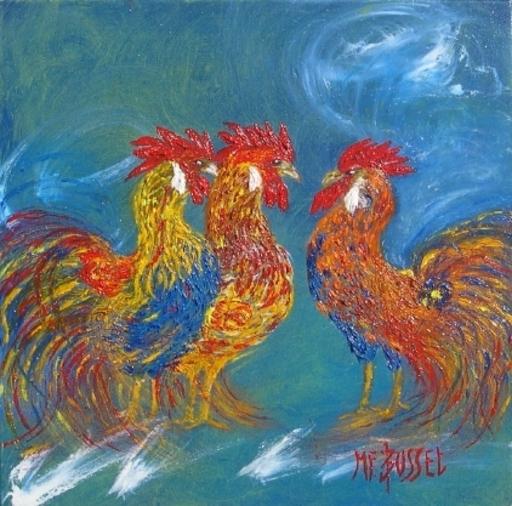 Marie-France BUSSET - Gemälde - MULTICOQS