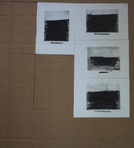 Pierre BURAGLIO - Print-Multiple - Plaisir de peindre