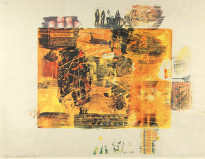 Robert RAUSCHENBERG, Yellow Body