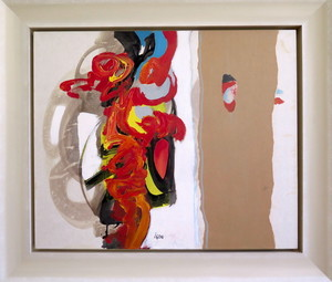 Pierre IGON - Painting - Abstraction