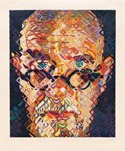 Chuck CLOSE - Estampe-Multiple - Self Portrait '15