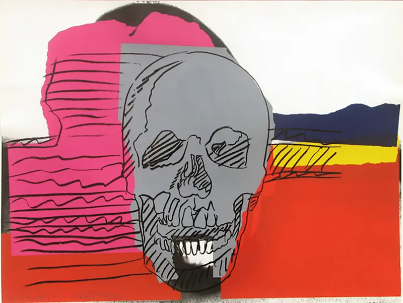 Andy WARHOL - Stampa-Multiplo - Skull