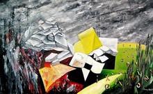Divina SABATÉ - Painting - Serie Humanity 03