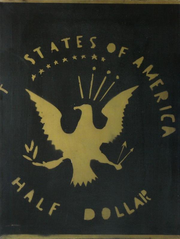 Franco ANGELI - Pintura - Half dollar