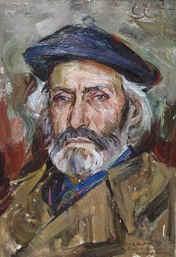 """Vassili KARKOTS - Pittura - """"Portrait of an Armenian Artist"""", 1961"""