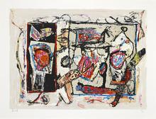 Jacques DOUCET - Print-Multiple - Rivages-visages-paysages du Sépik I