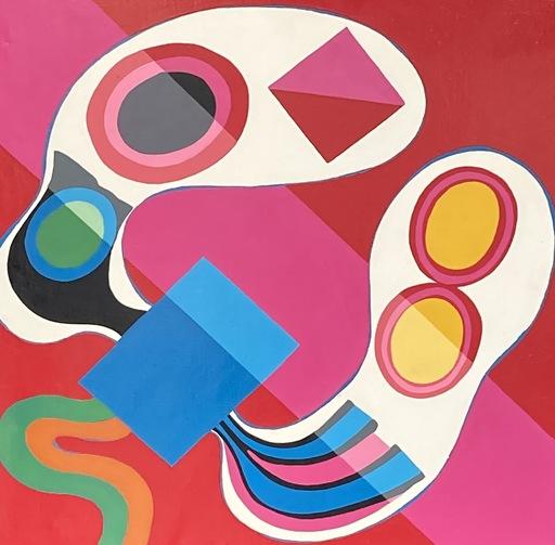 Jorge PÉREZ CASTAÑO - Pintura - Composition 1969