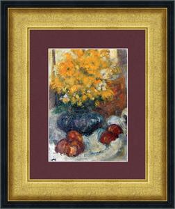 Levan URUSHADZE - Peinture - Still life with yellow flowers