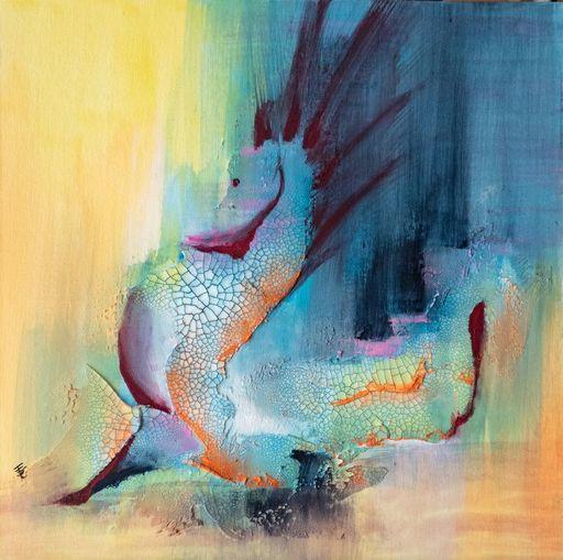 Françoise DUGOURD CAPUT - Painting - Hippocampus