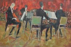 Ralph TAYLOR - Painting - The Quartet