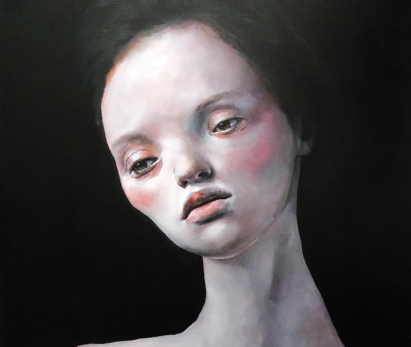 Juan PALOMARES - Gemälde - Retrato 21