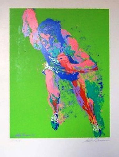 LeRoy NEIMAN - Print-Multiple - THE SPRINTER
