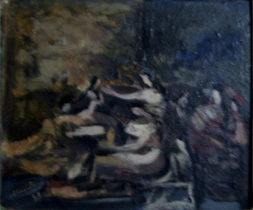 Alfred ABERDAM - Peinture - Women in an Interior