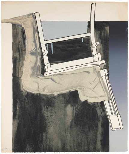 Jasper JOHNS - Print-Multiple - Leg and Chair