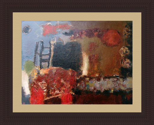 Levan URUSHADZE - Peinture - Composition # 89