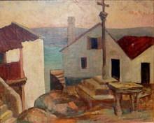Rafael UBEDA PIÑEIRO - Painting - combarro