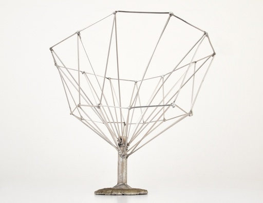 "Val BERTOIA - Scultura Volume - Val Bertoia ""Structured Tree"" Sculpture"