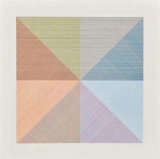 Sol LEWITT - Estampe-Multiple - Untitled