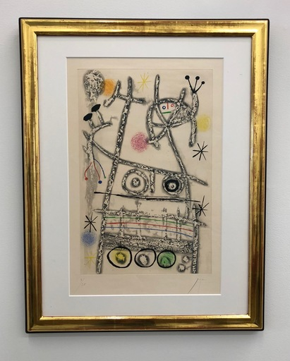 Joan MIRO - Stampa-Multiplo - Les forestiers
