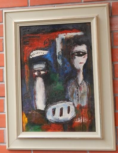 Josef JIRA - Gemälde - Eyes