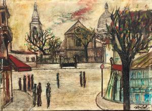 Edgar STOEBEL - 绘画