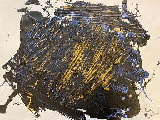Jérémie REBOURGEARD - Gemälde - L'accion  de l'Esprit