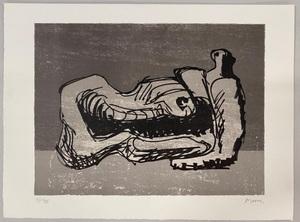Henry MOORE - Print-Multiple - Hommage à San Lazzaro