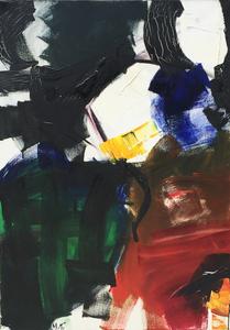 Jean MIOTTE - Peinture - Composition abstraite