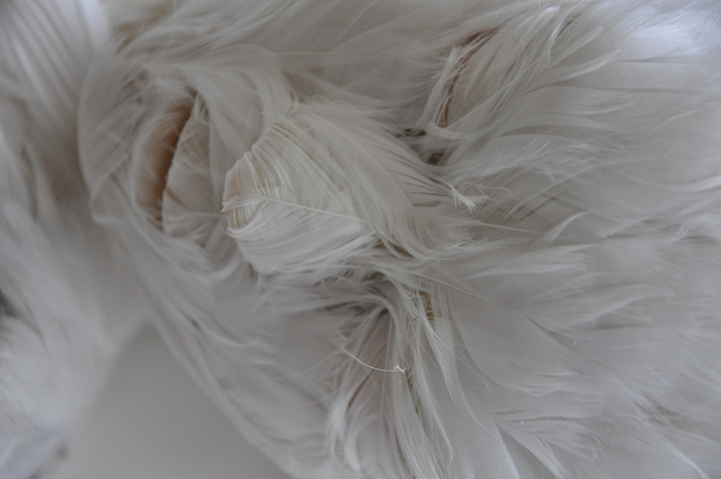 Lucy GLENDINNING - Sculpture-Volume - Feather Child 4