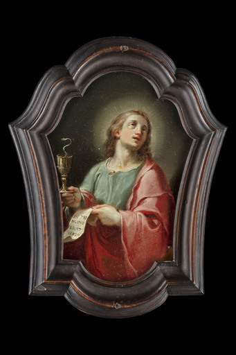 Ubaldo GANDOLFI - Pintura - Saint John the Evangelist and Saint Paul