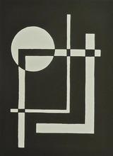 César DOMELA - Grabado - 10 Constructivist Studies 1924