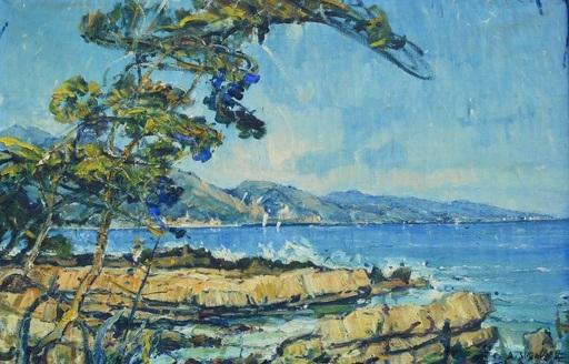 André SUZANNE - Pintura - Marine Menton