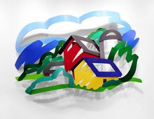 Tom WESSELMANN (1931-2004) - House and Barn in the Distance (3-D)
