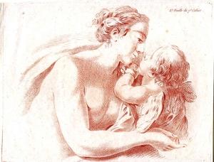 Jean-Baptiste I HUET, Venus und Amor