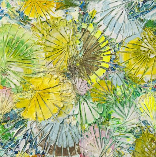 Adam COHEN - Painting - Zen Garden