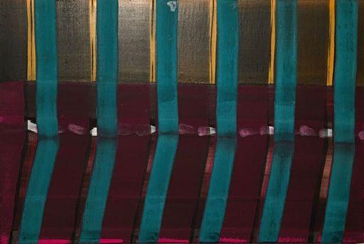 Juan USLÉ - Painting - Seven samurais