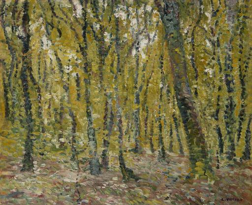 Louis VALTAT - Peinture - Sous bois