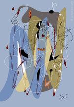 Jacqueline DITT - Estampe-Multiple - SoundTrack 4 - Grafik / graphic ltd. Edition