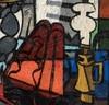Claude VENARD - Gemälde - Composition au Violon