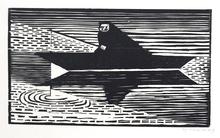 Gerhard MARCKS - Grafik Multiple - Der Fischer