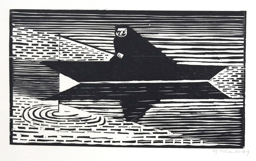 Gerhard MARCKS - Print-Multiple - Der Fischer